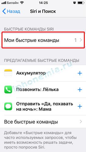 Как на айфоне 6 включить сири на айфоне. Включение и вызов Siri на iPhone